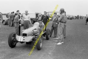 AJB Special Archie Butterworth in paddock Winfield Scotland 1951 (c)